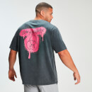 MP x Zack George Acid Wash Oversized Tee - Neon Pink
