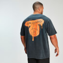 MP x Zack George Acid Wash Oversized Tee - Neon Orange - S
