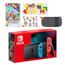 Nintendo Switch (Neon Blue/Neon Red) Paper Mario: The Origami King Pack