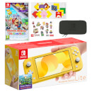 Nintendo Switch Lite (Yellow) Paper Mario: The Origami King Pack