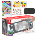 Nintendo Switch Lite (Grey) Paper Mario: The Origami King Pack