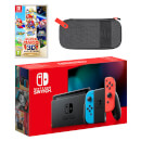 Nintendo Switch (Neon Blue/Neon Red) Super Mario 3D All-Stars Pack
