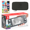 Nintendo Switch Lite (Grey) Super Mario 3D All-Stars Pack