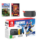 Nintendo Switch Fortnite Special Edition Minecraft Double Pack