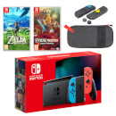 Nintendo Switch (Neon Blue/Neon Red) The Legend of Zelda Double Pack
