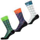 Santini Dinamo Medium Profile Printed Socks