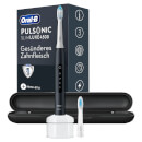 Pulsonic Slim Luxe 4500 Matte Black mit Reiseetui