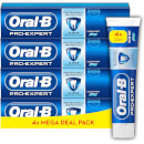 Oral-B Pro-Expert Professional Protection Toothpaste 4x125ml, Shipped In Recycled Carton