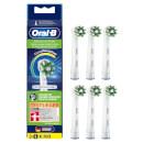 Oral-B CrossAction Aufsteckbürsten mit CleanMaximiser-Borsten für überlegene Reinigung, 6Stück