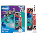 Best of Pixar Electric Toothbrush Gift Set & Free Travel Case for Ages 3+