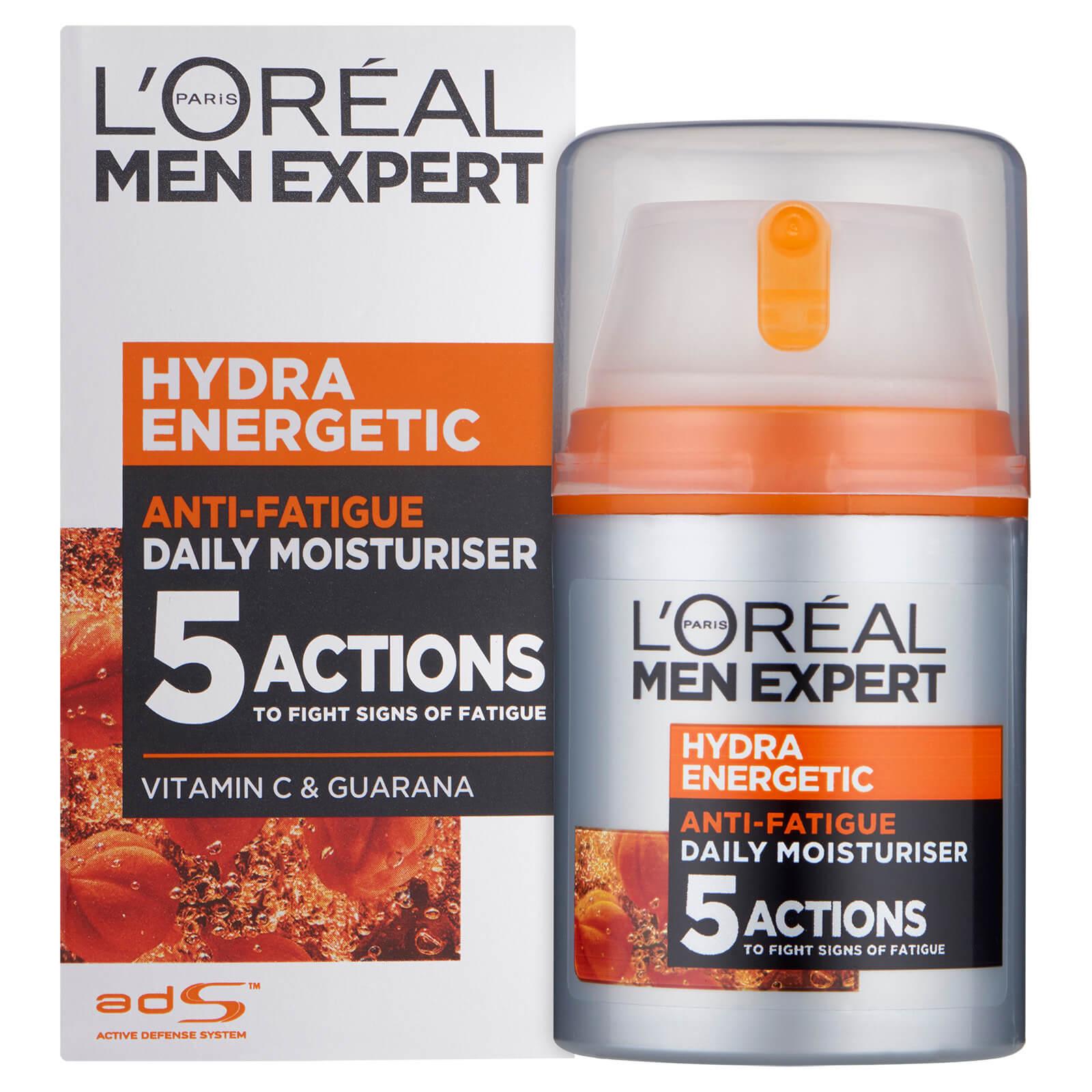 L'Oréal Men Expert Hydra Energetic Daily Anti Fatigue Moisturising Lotion (50 ml)