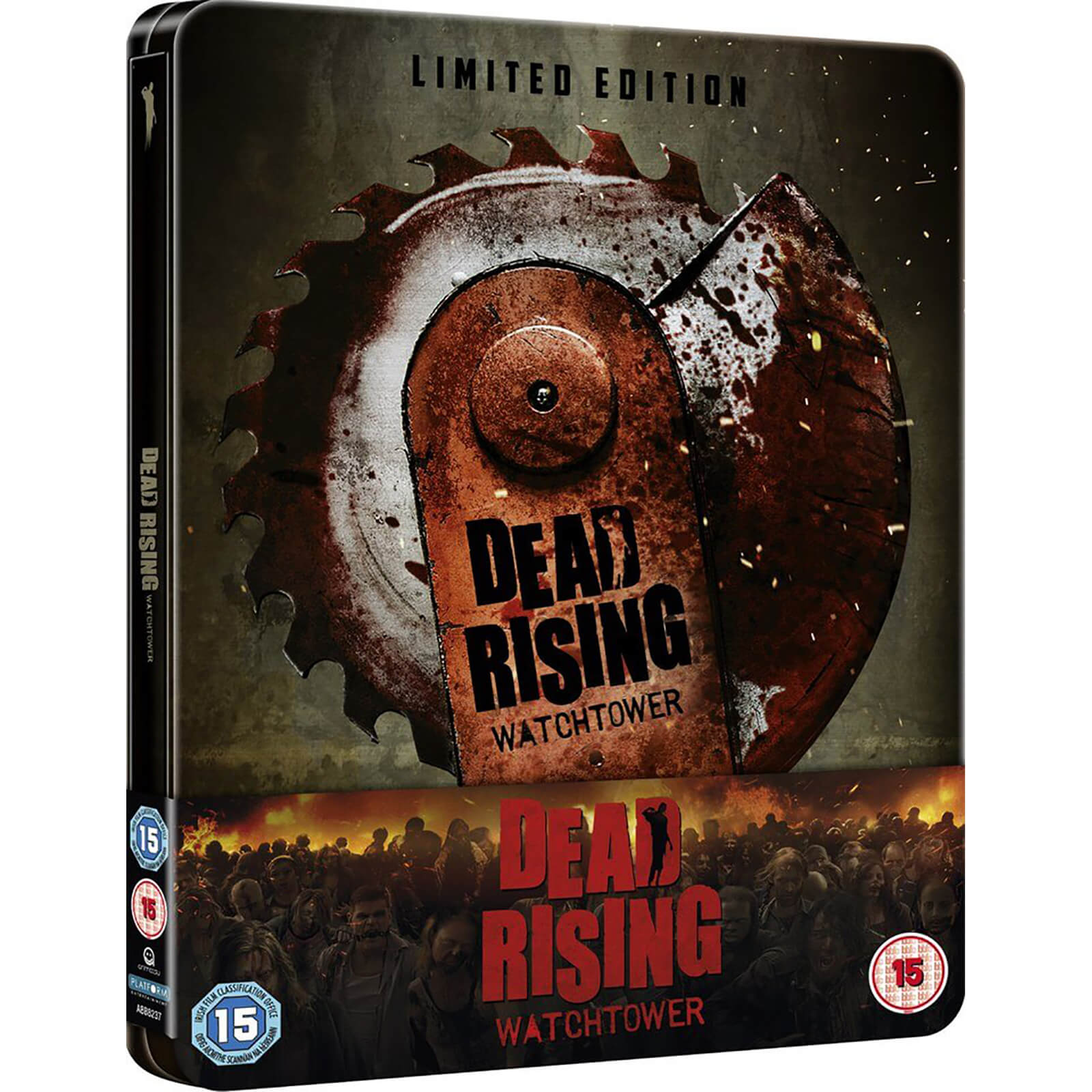 Dead Rising Watchtower Zavvi Uk Exclusive Steelbook Limited To 1000 Units Only Blu Ray Zavvi Us