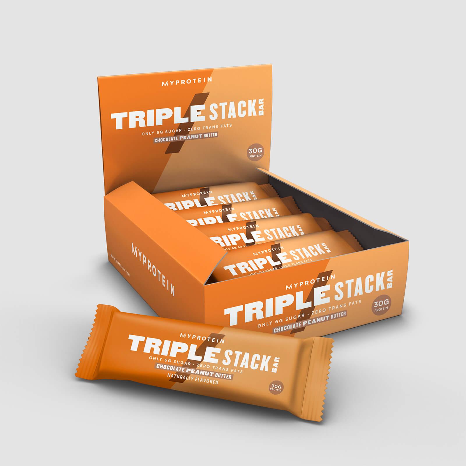 Buy Triple Stack Bars   MYPROTEIN™