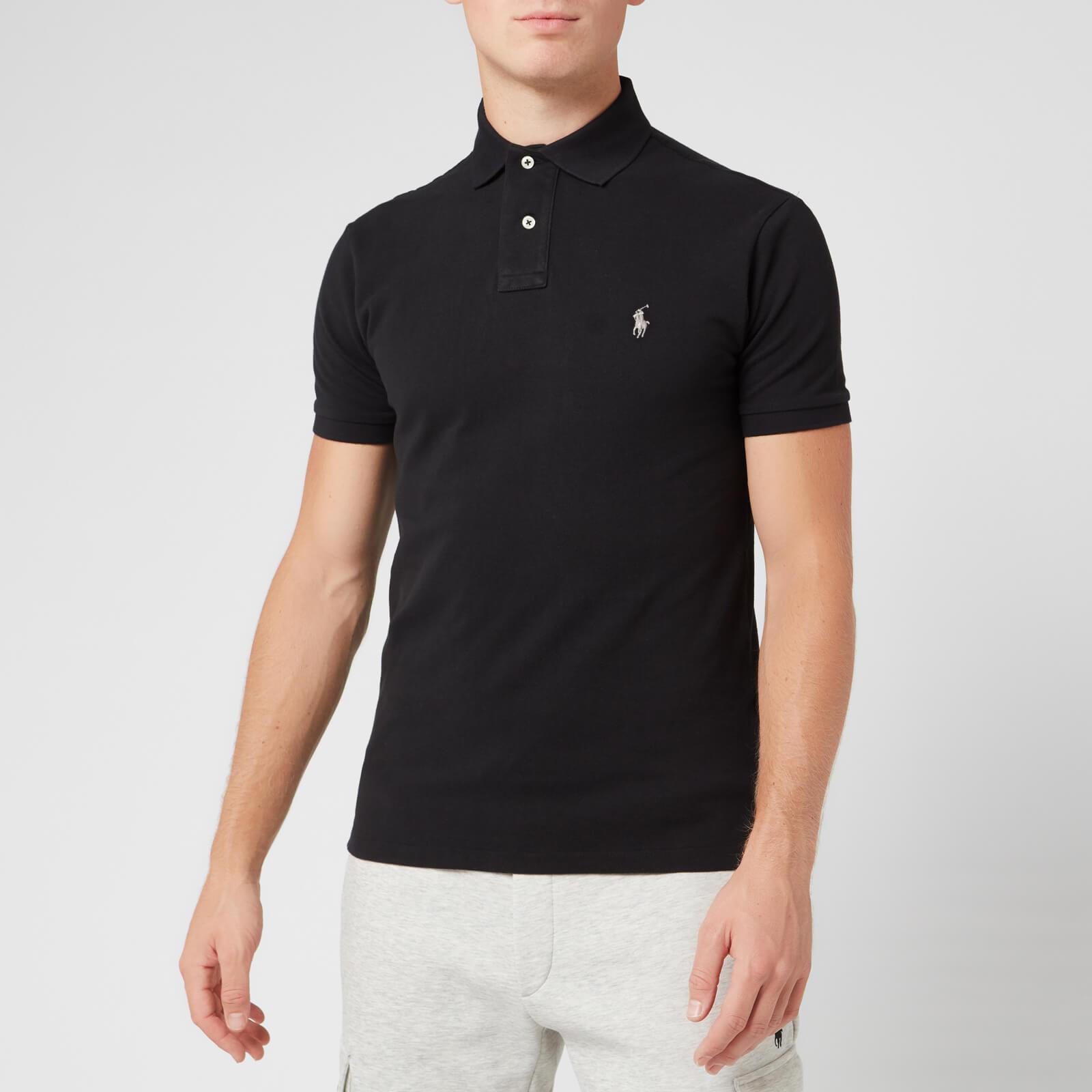 ralph lauren mens black polo shirt Shop Clothing & Shoes Online