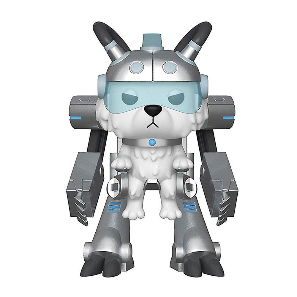 Rick And Morty Snowball In Mech Suit 6 Inch Pop Vinyl Figure My Geek Box Us