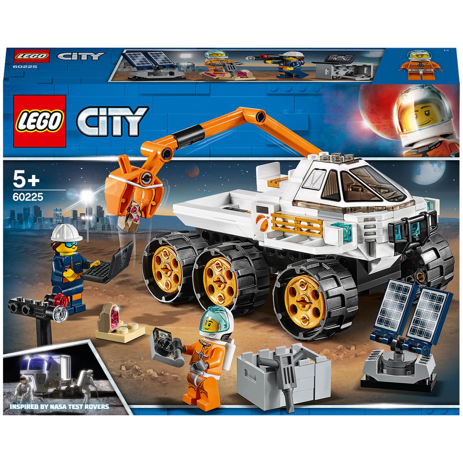 Lego City Rover Testing Drive Space Toy 60225 Toys Zavvi Uk