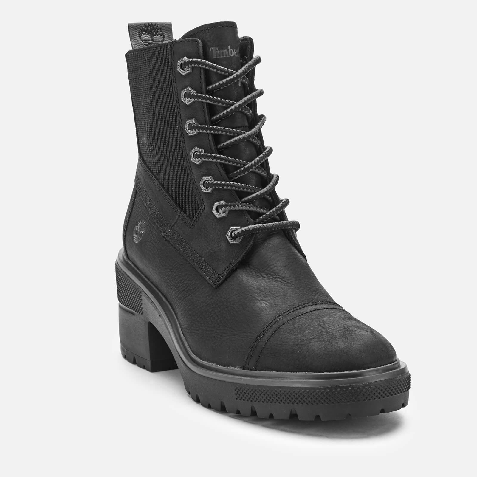 Timberland Women's Silver Blossom Mid Boots - Black Full Grain