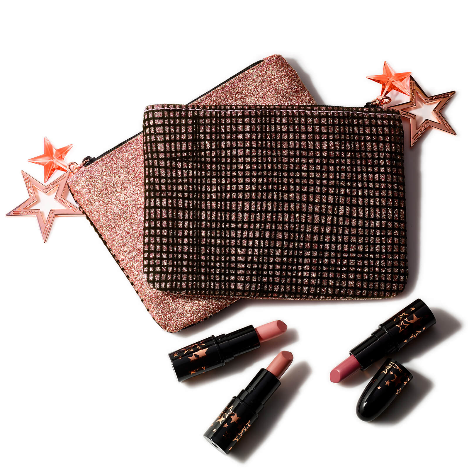 MAC Lucky Stars Lipstick Kit Warm (Worth £30.00)