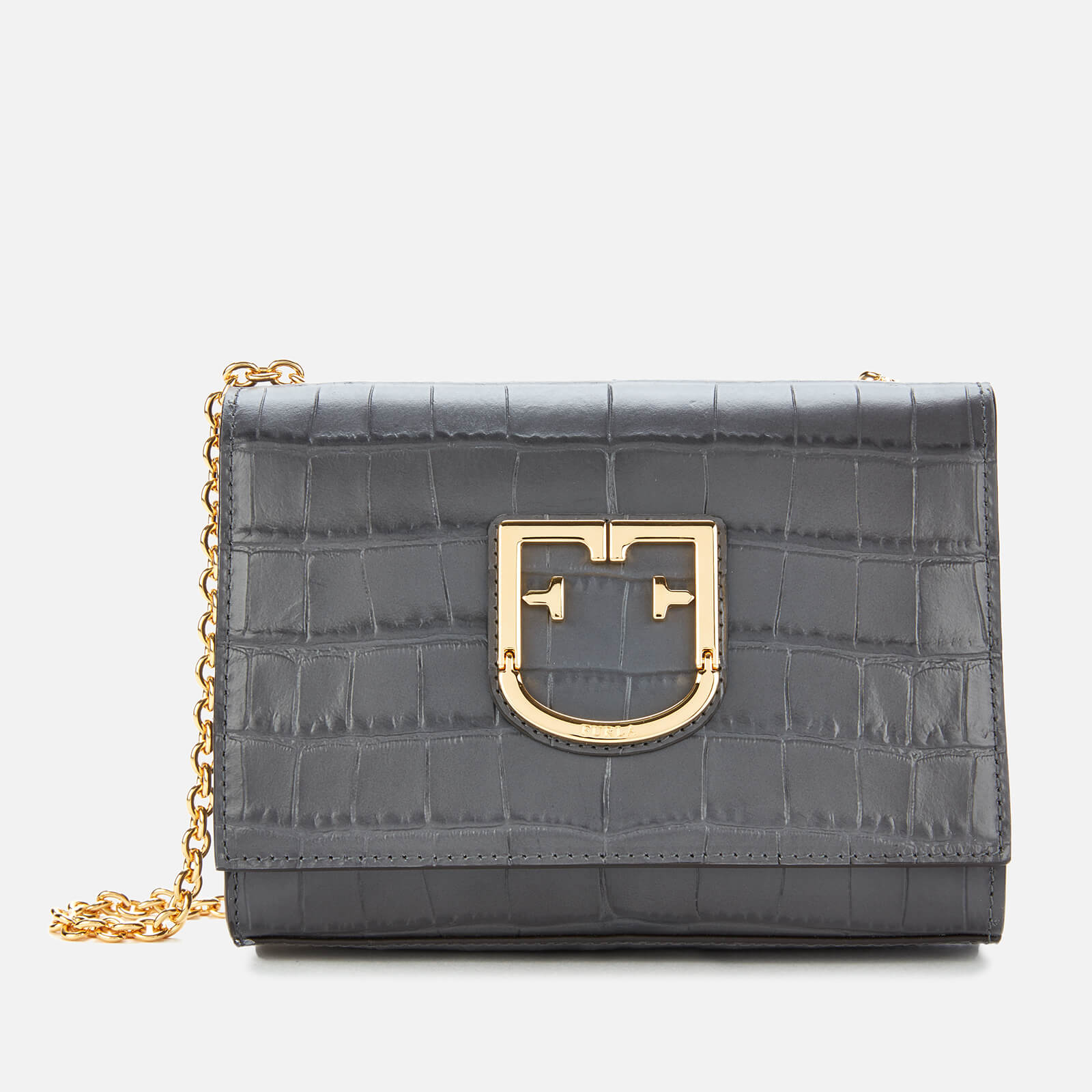 Furla Women's Furla Viva Mini Pochette Bag - Grey