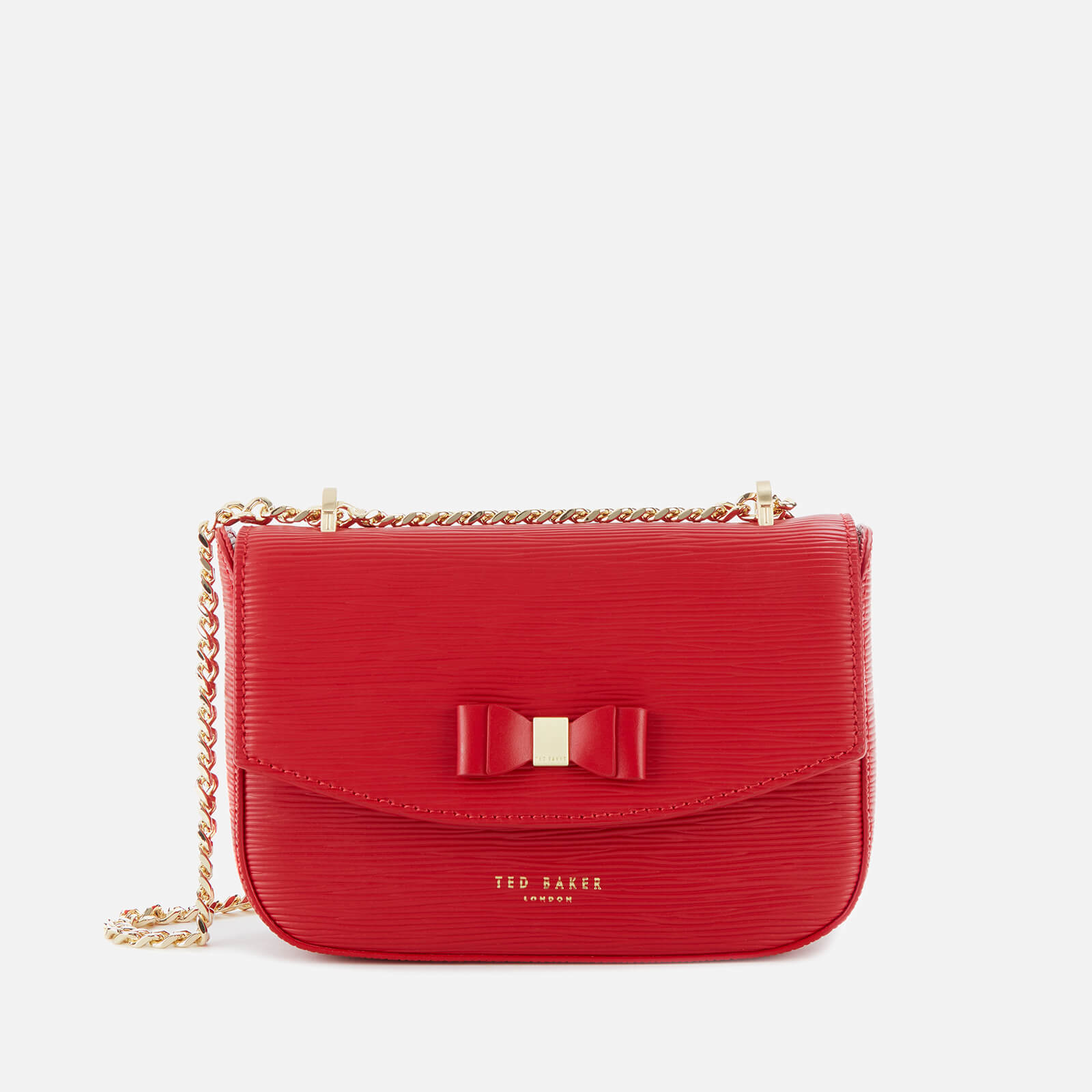 Ted Baker Women's Daissy Bow Mini Shoulder Bag - Red