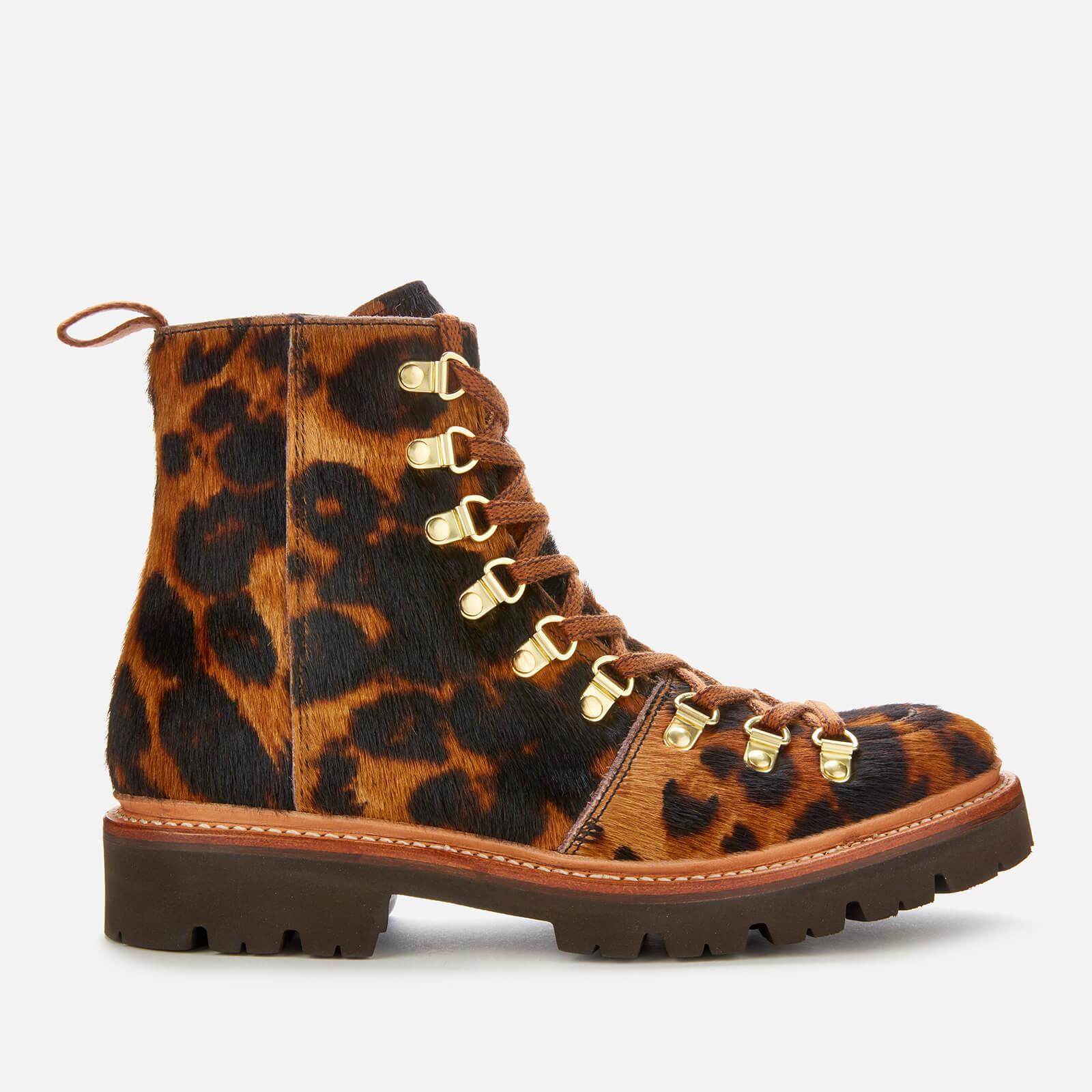 leopard print hiking boots