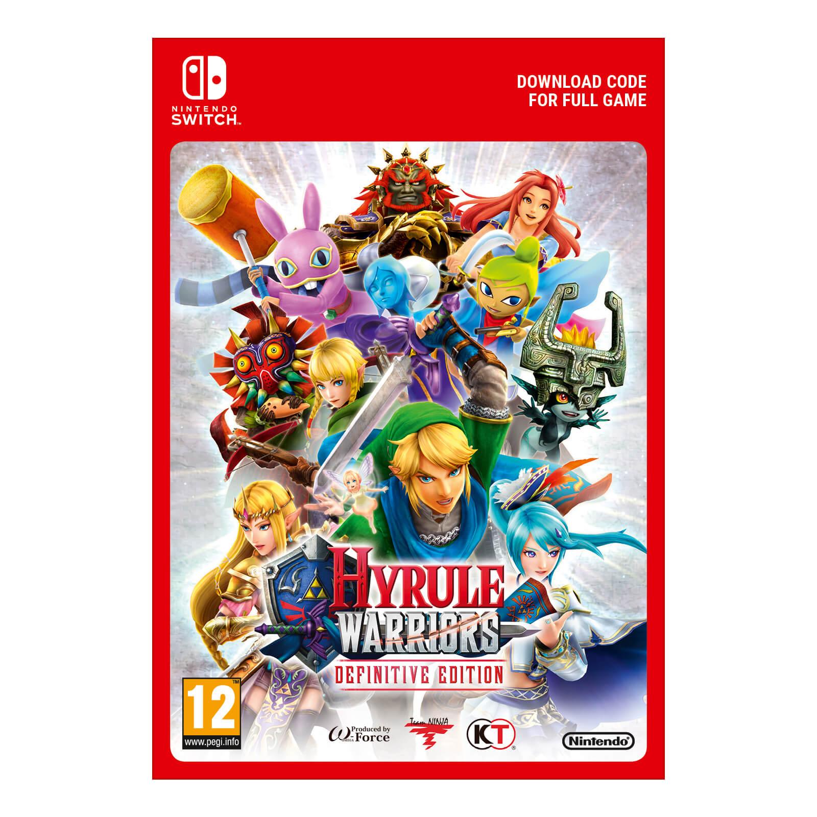 Hyrule Warriors Definitive Edition Digital Download Nintendo Official Uk Store