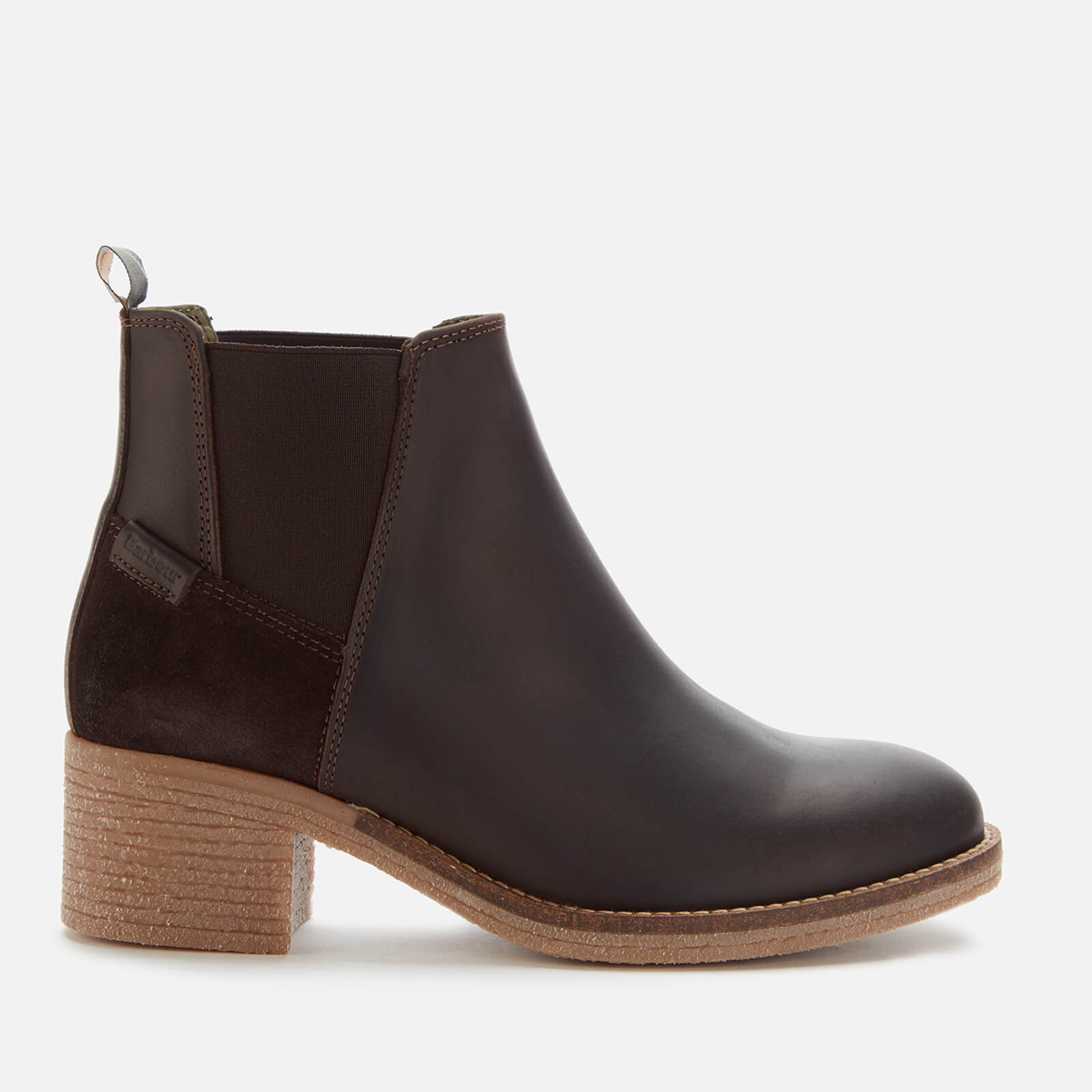 barbour black ankle boots