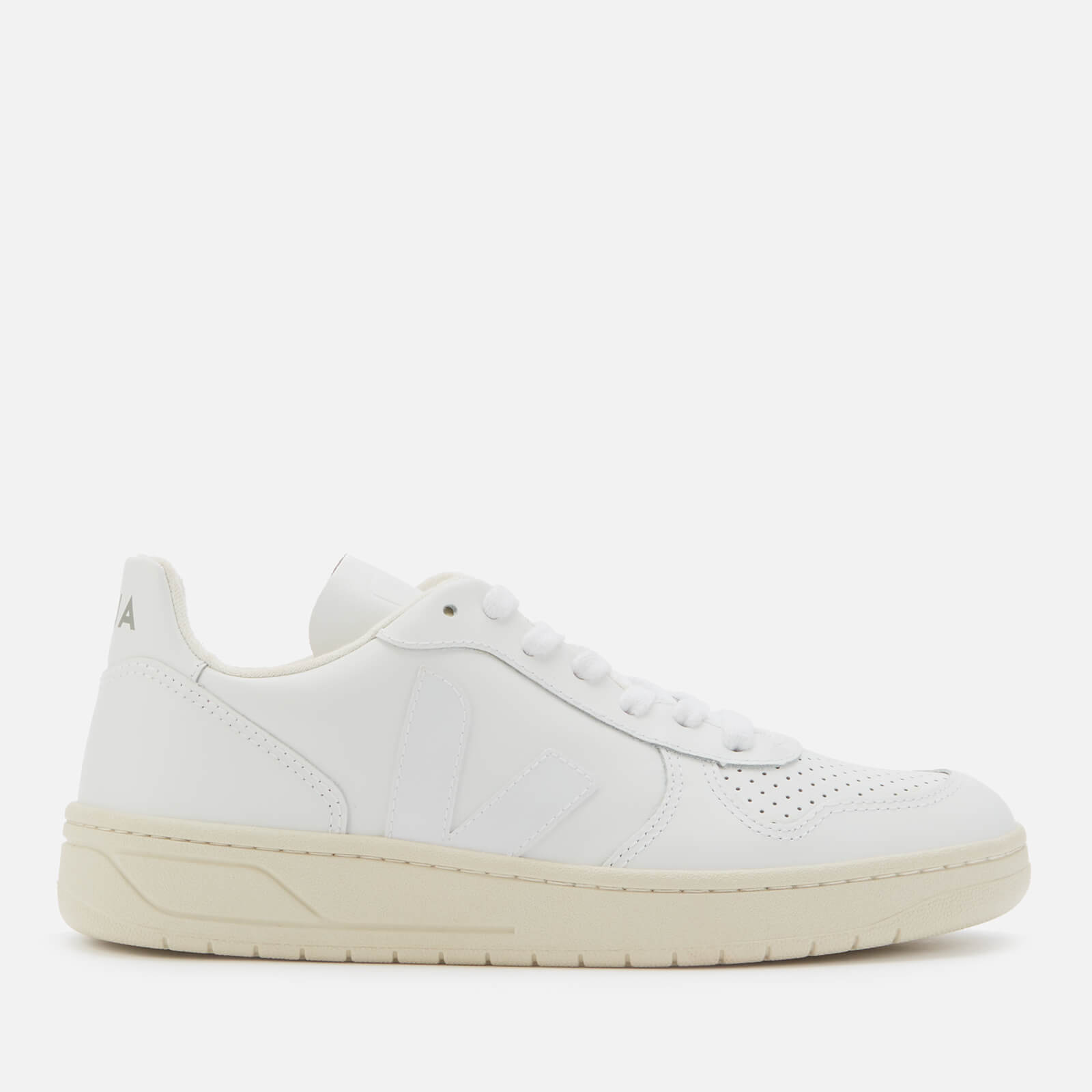 Leather Trainers - Extra White