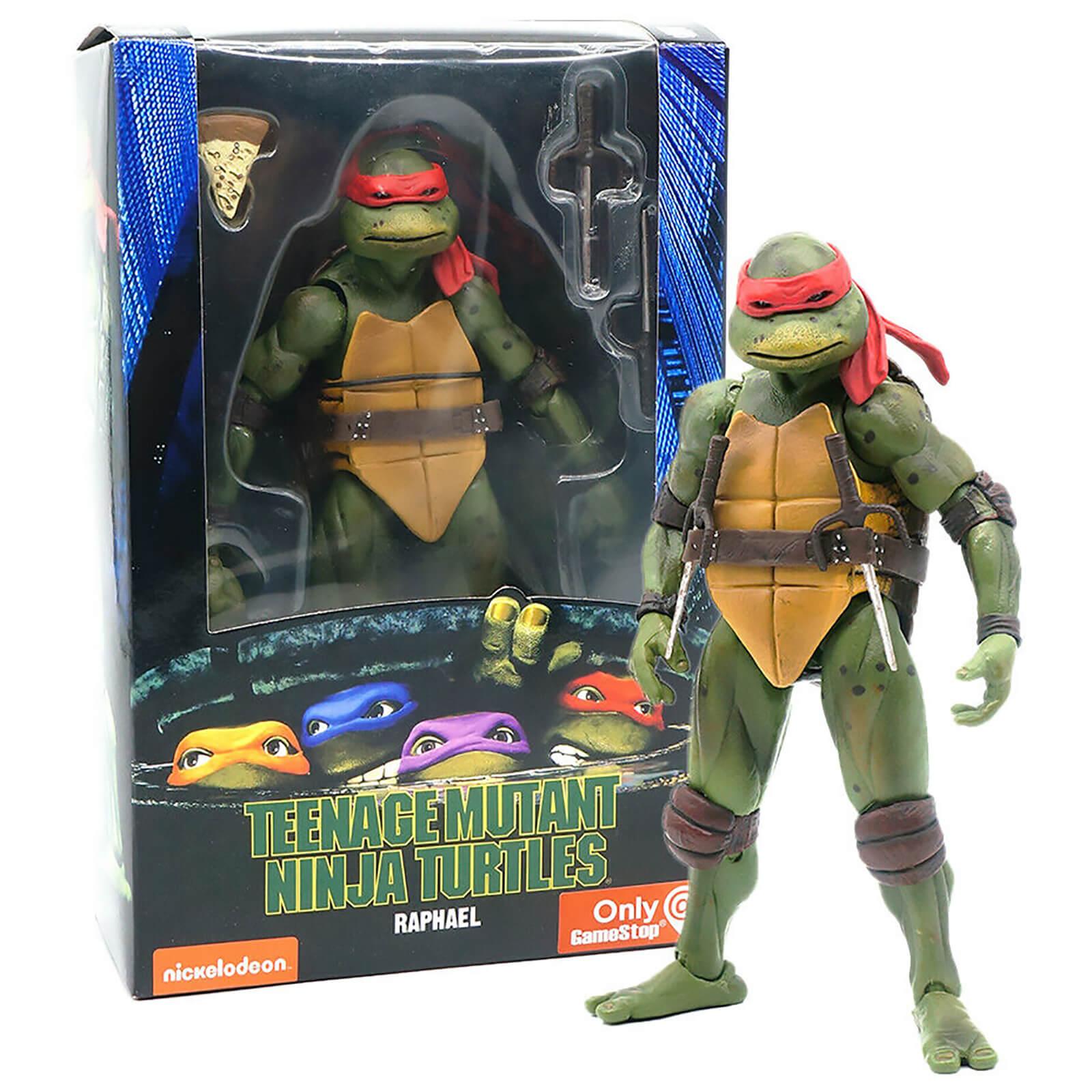 Neca Teenage Mutant Ninja Turtles 7 Figure 1990 Movie Raphael