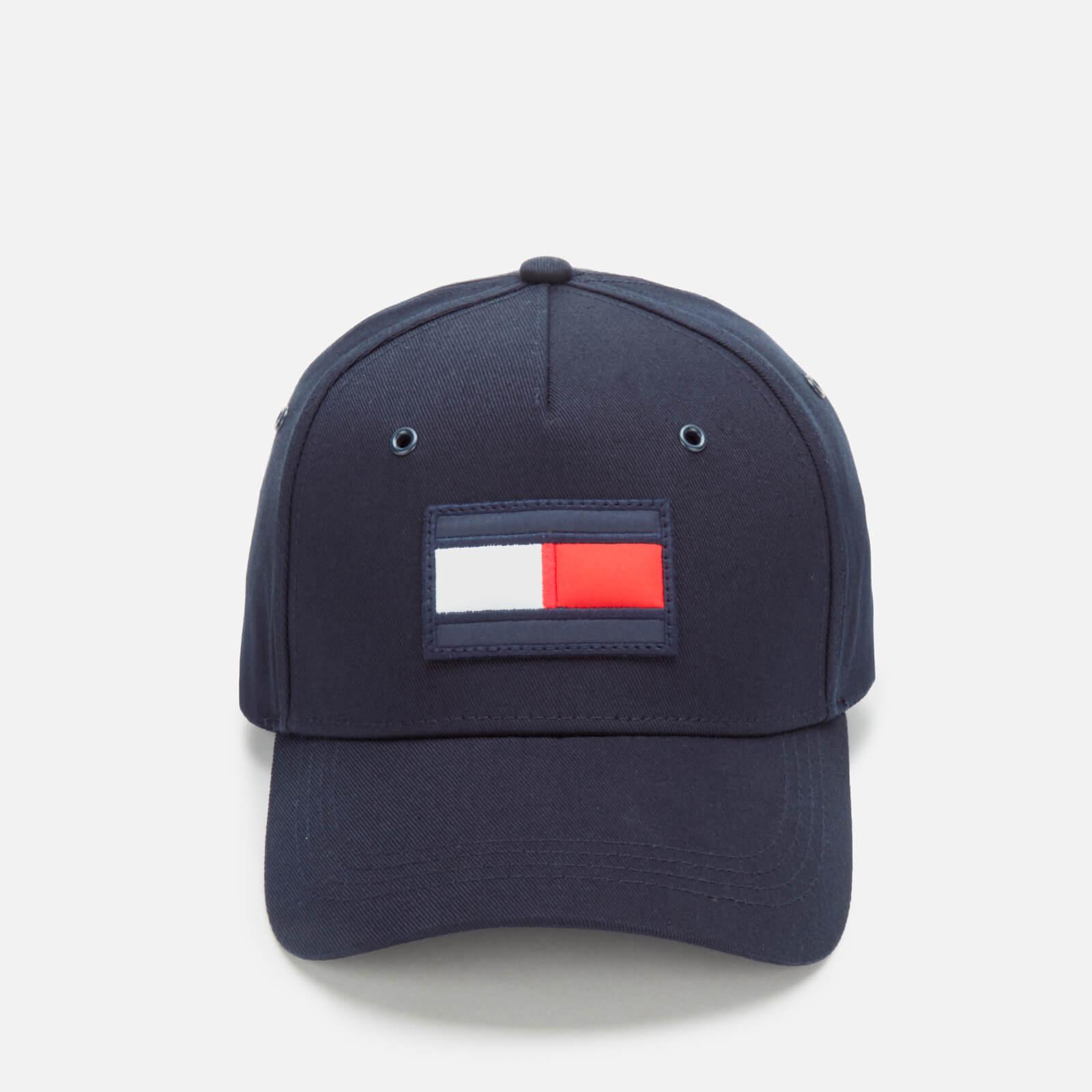 Tommy Hilfiger Mens Big Flag Baseball Cap