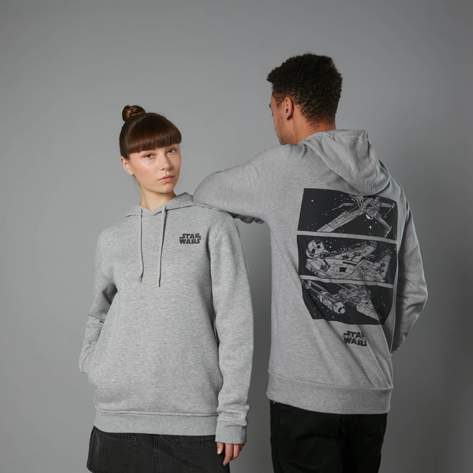 Officially Licensed Star Wars Skywalker And Son Hoodie S-XXL Sizes