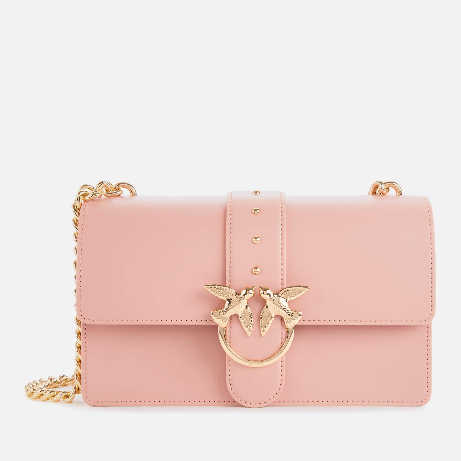 Pinko Women's Classic Love Shoulder Bag Pink