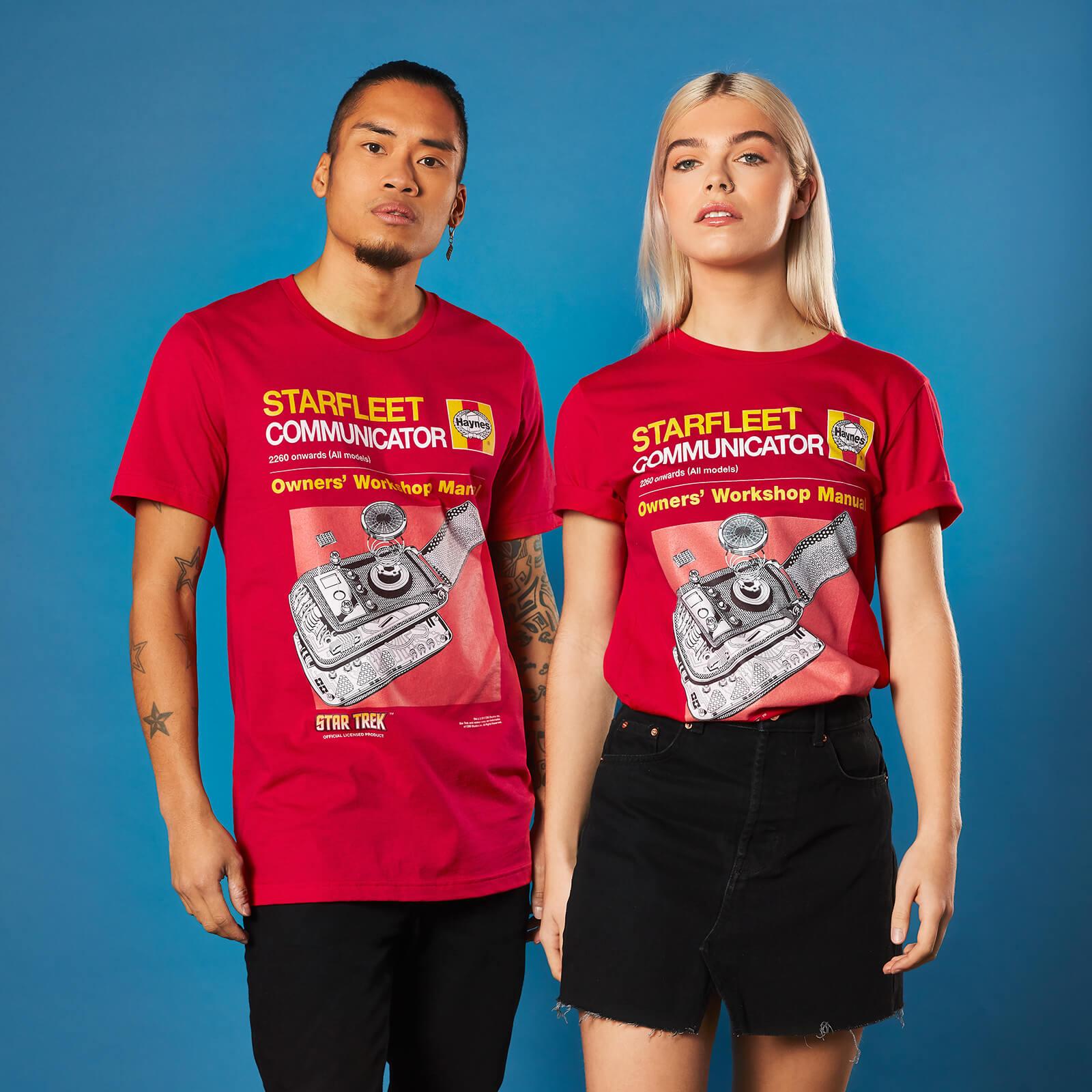 Star Trek Owner/'s Workshop COMMUNICATOR MANUAL T-Shirt All Sizes