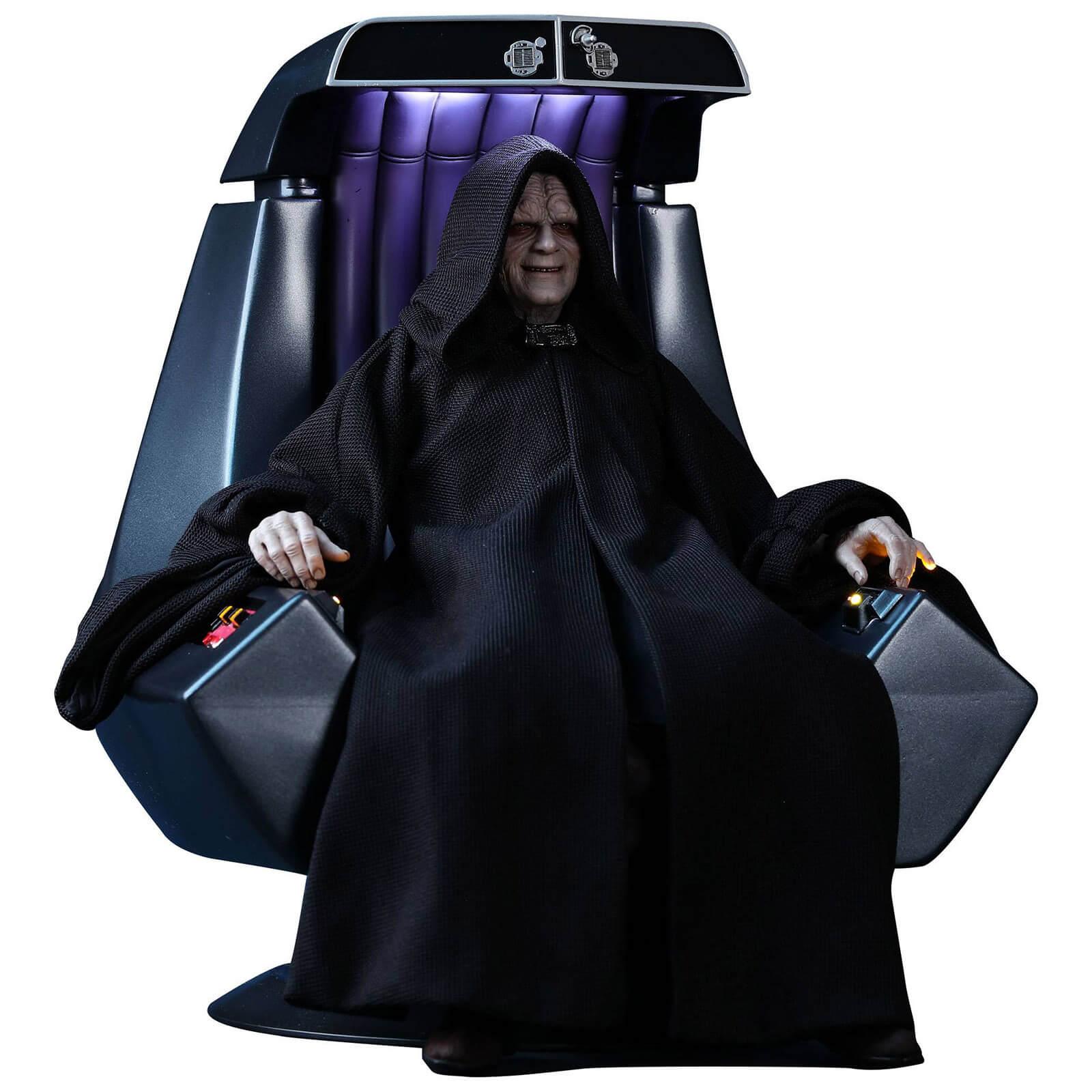 Hot Toys Star Wars Episode Vi Movie Masterpiece Action Figure 1 6 Emperor Palpatine Deluxe Version 29 Cm Merchandise Zavvi Us