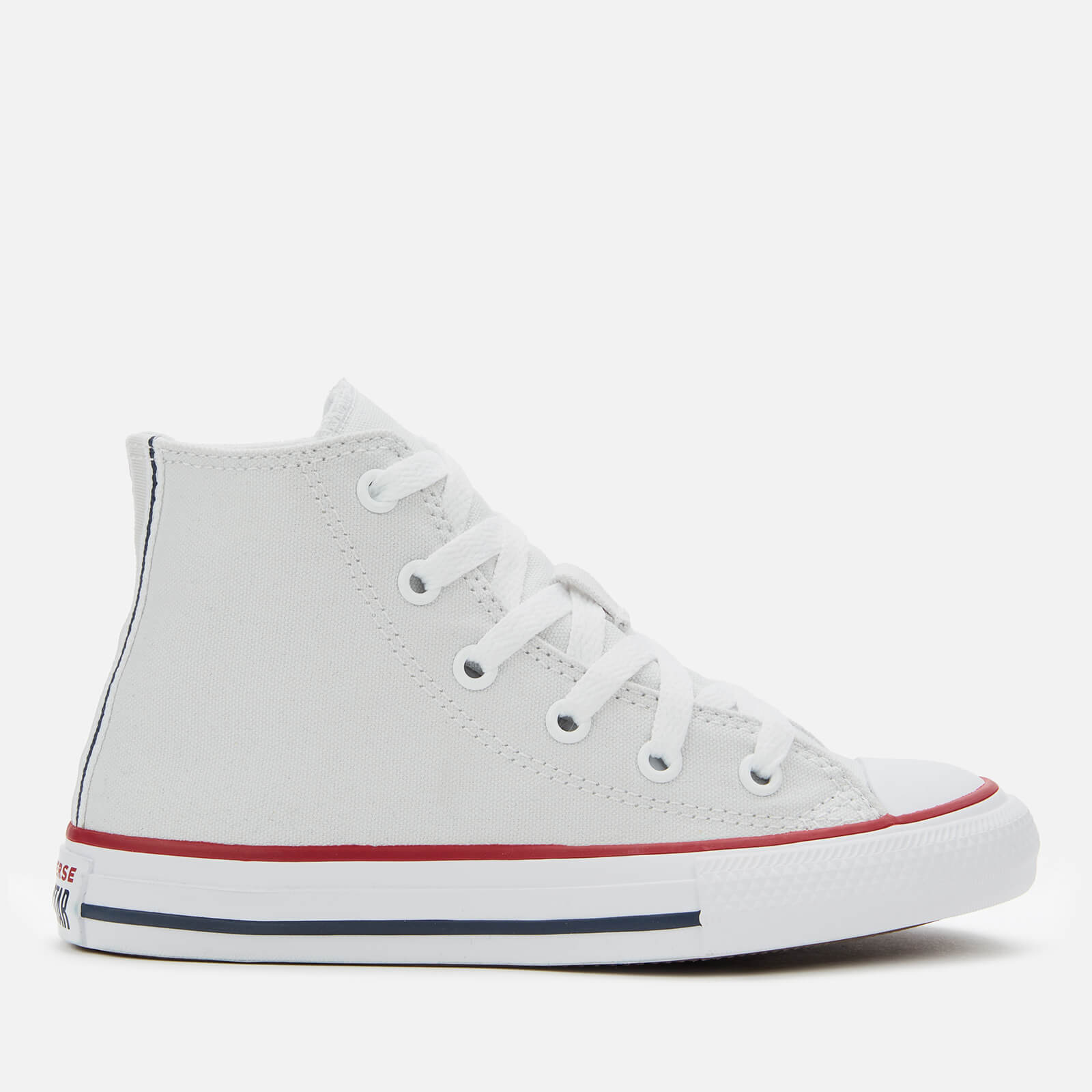Converse Kids' Chuck Taylor All Star Twisted Varsity Hi Top Trainers Photon DustGarnetWhite