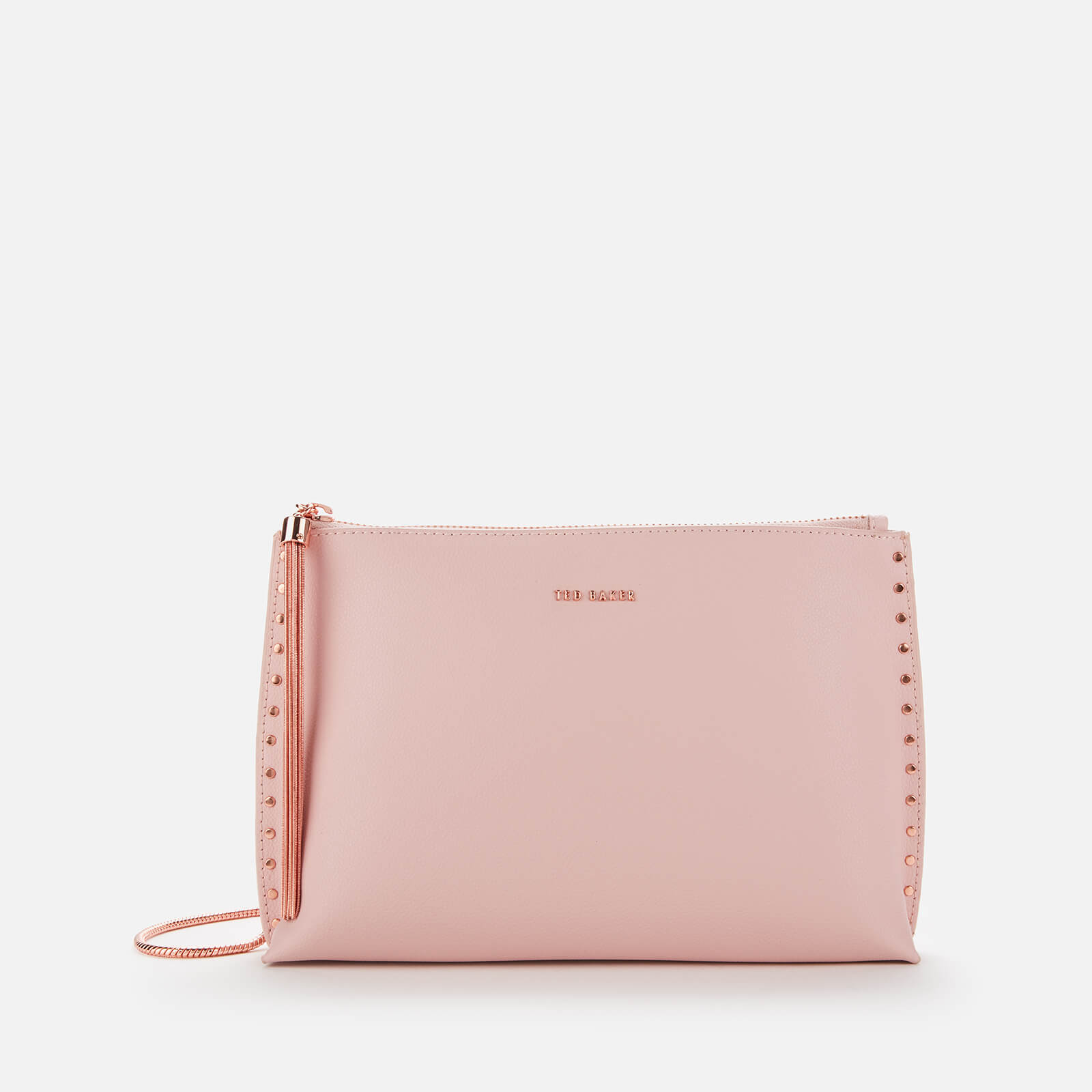 Ted Baker Women's Tesssa Knotted Zip Cross Body Bag - Light Pink 原價99英鎊 優惠價70