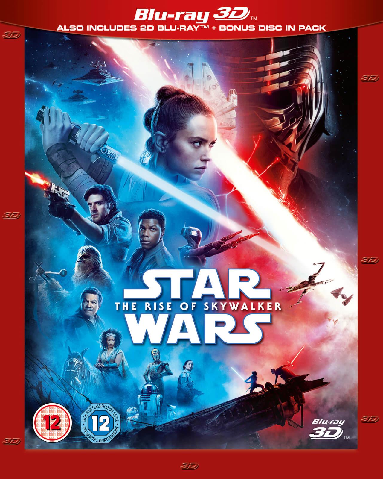 Star Wars The Rise Of Skywalker 3d Blu Ray Zavvi Us