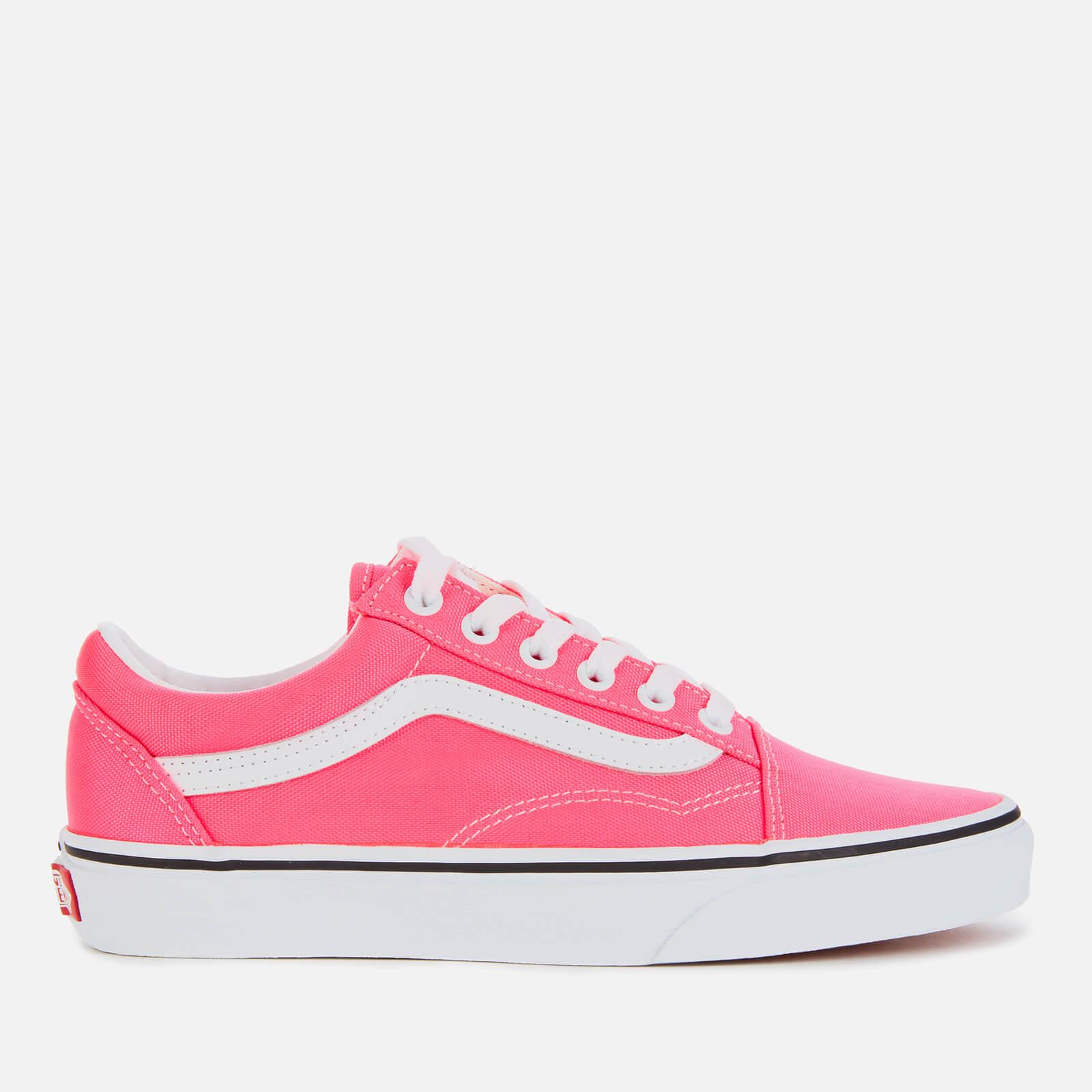 Vans Old Skool (Neon) Knockout Pink True White