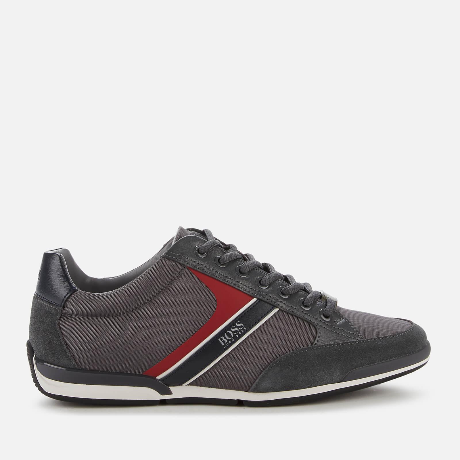 grey hugo boss trainers