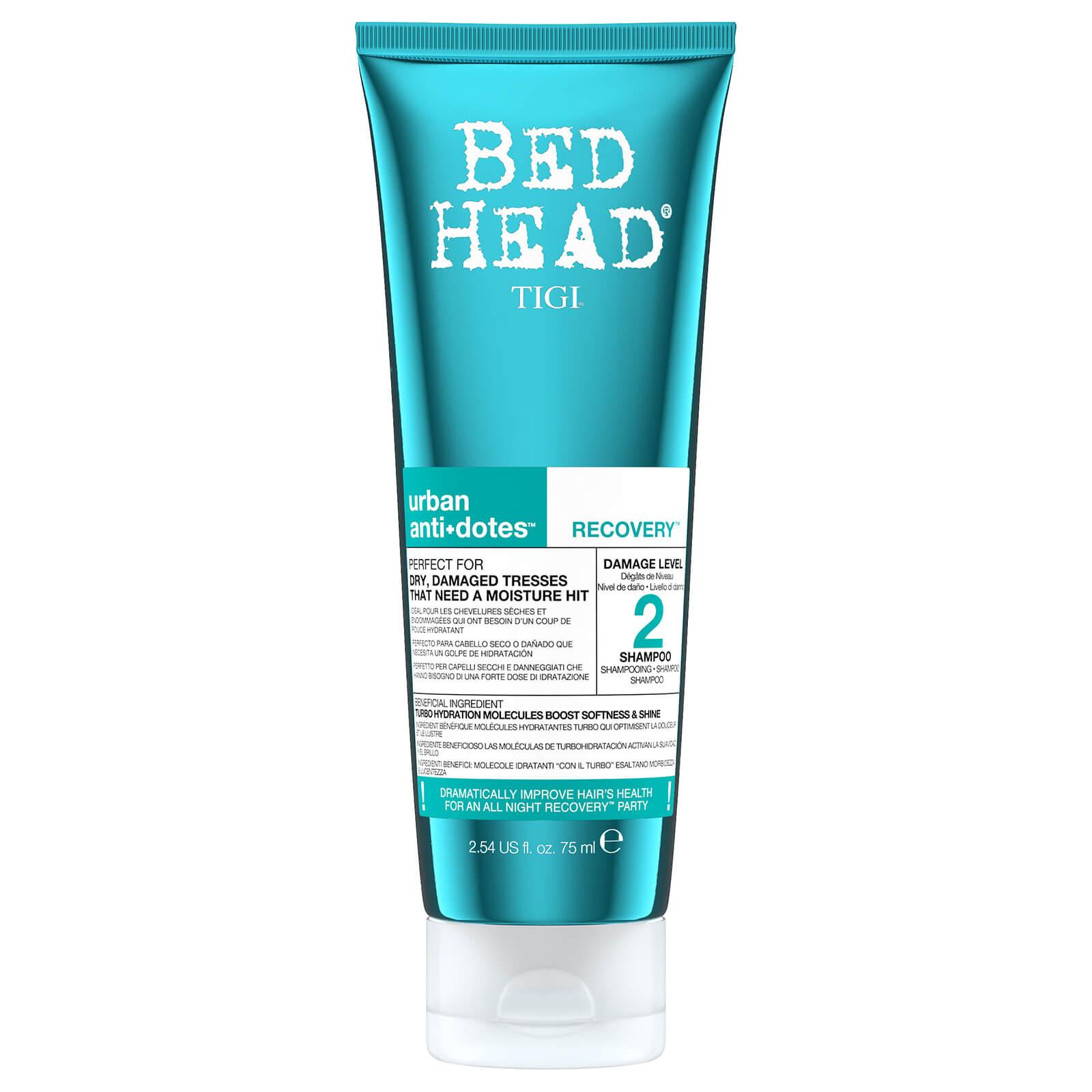 Tigi Bed Head Travel Size Urban Antidotes Recovery Moisture Shampoo 75ml Free Shipping Lookfantastic