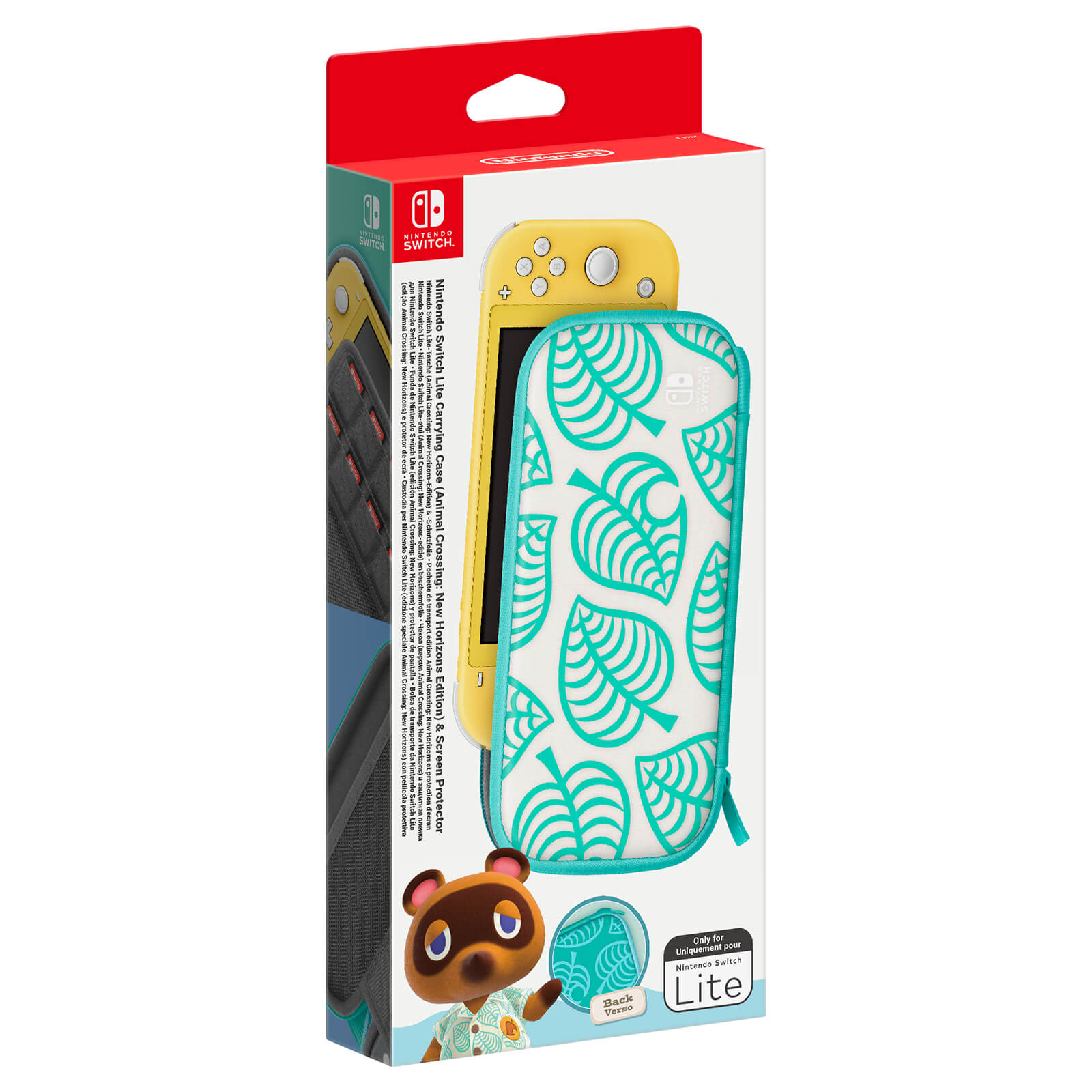 animal crossing switch carrying case