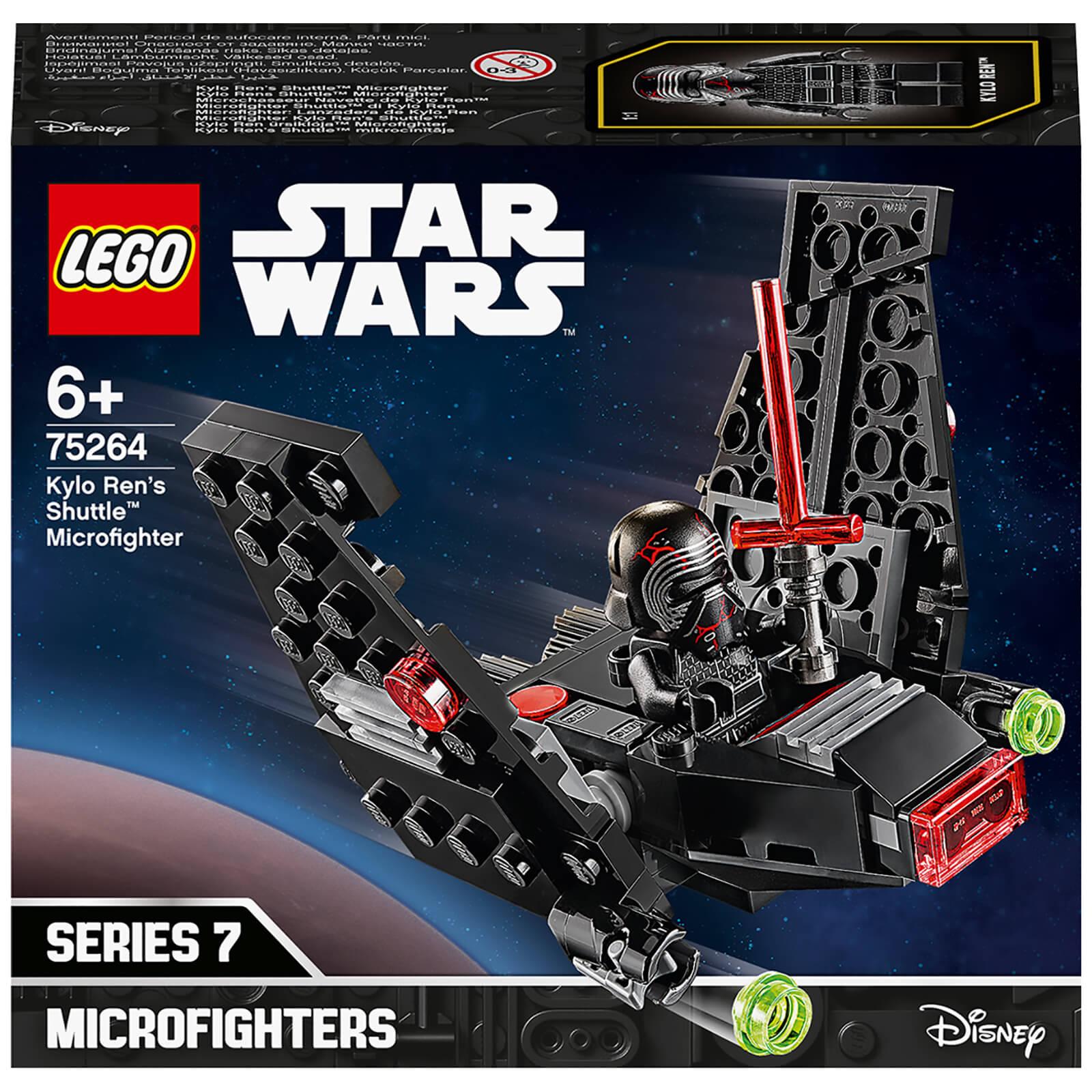 Lego Star Wars Tm Kylo Ren S Shuttle Microfighter 75264 Iwoot Uk