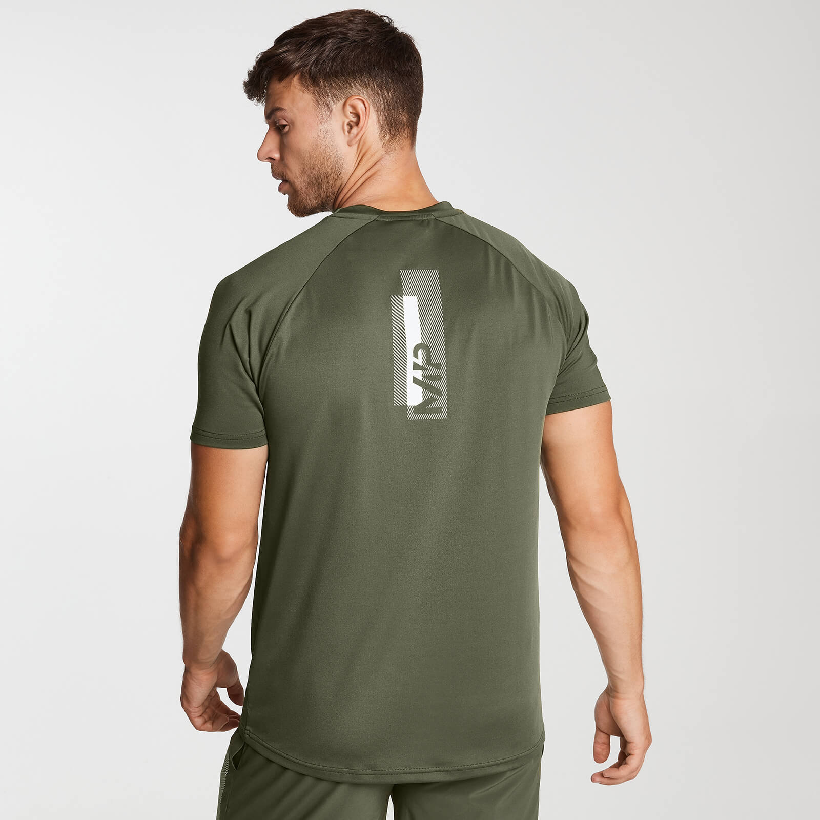 Men's Printed Kortermet trenings T skjorte | Svart | MYPROTEIN™