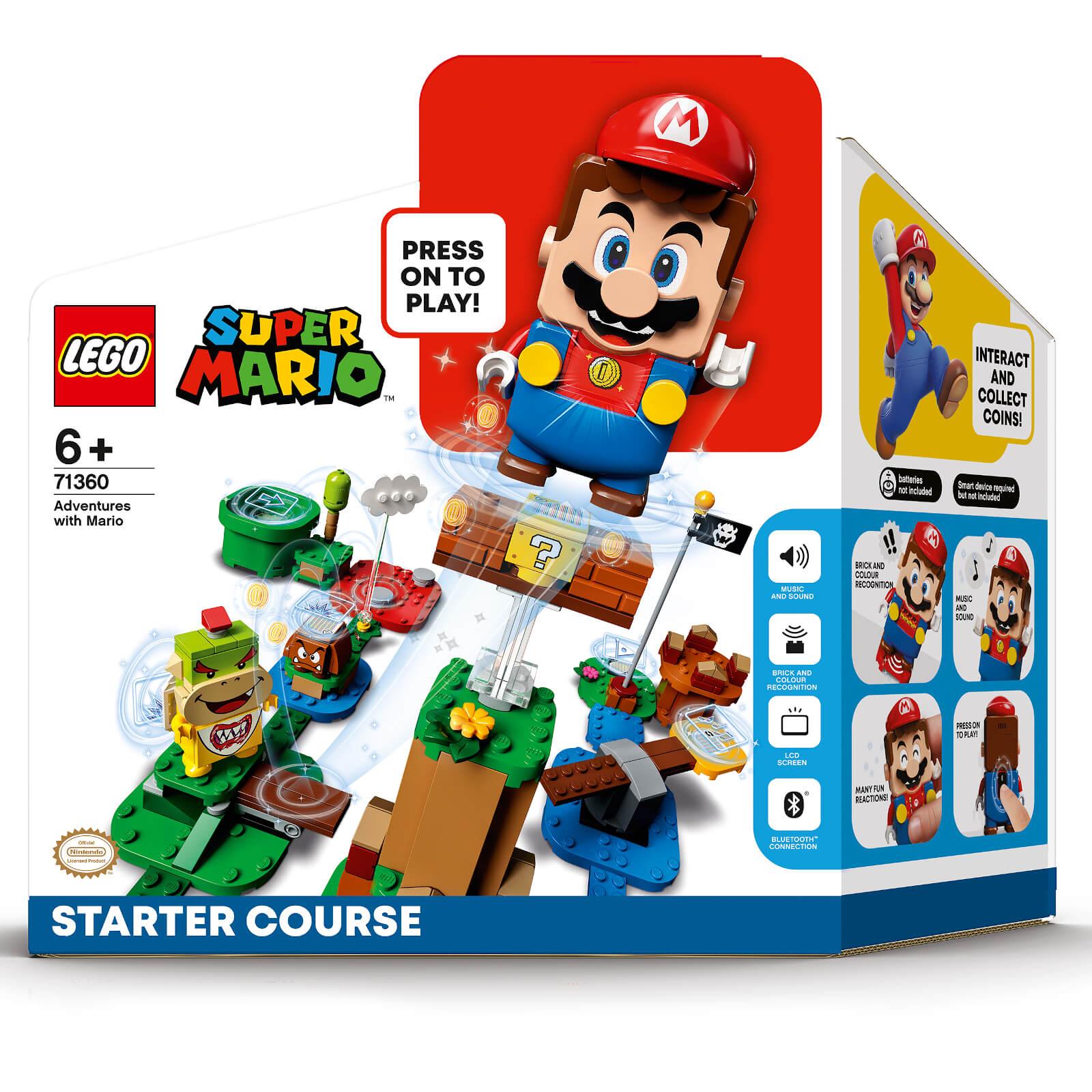 LEGO Super Mario: Starter Set w/ Expansion Kit