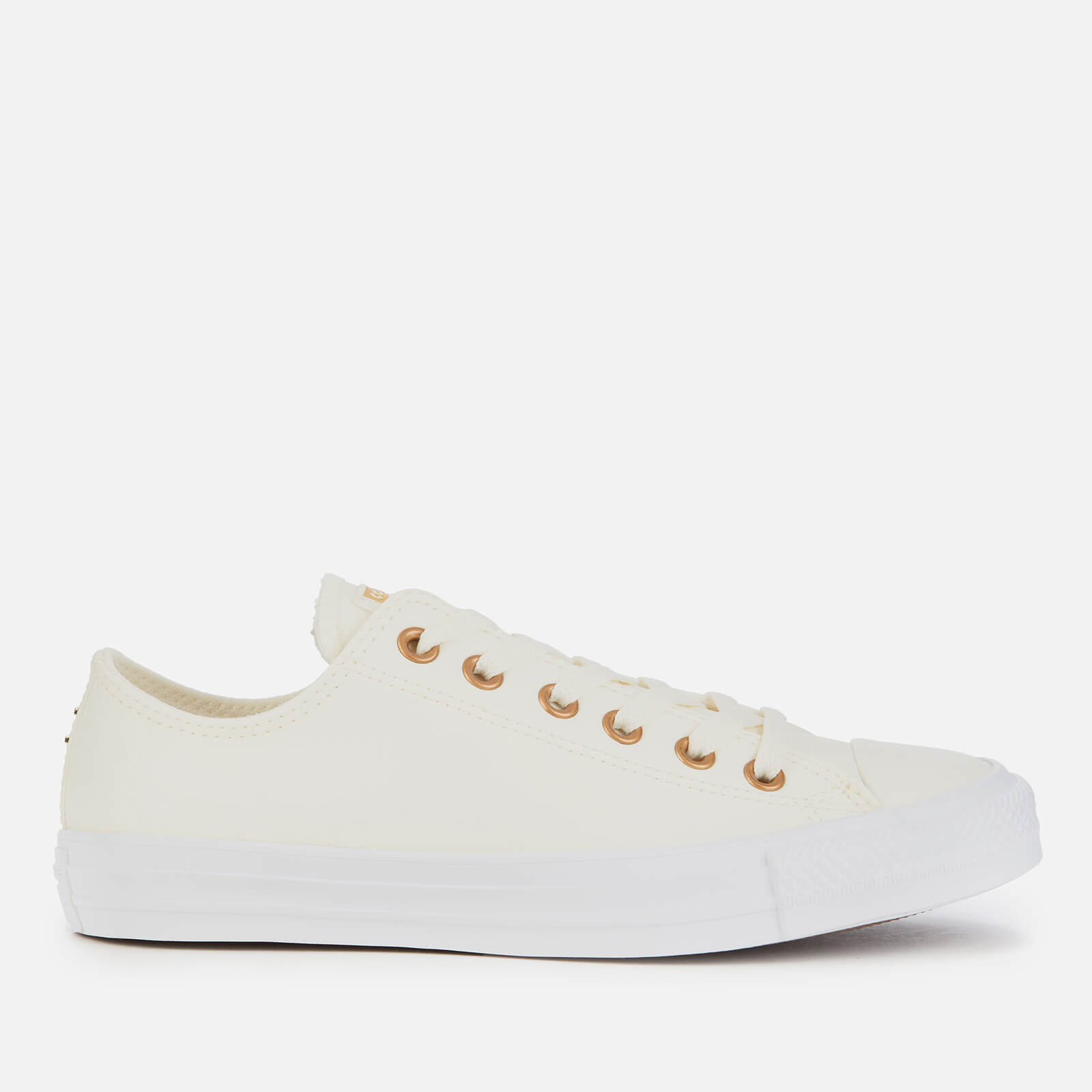 Star Ox Trainers - Egret/Gold/White
