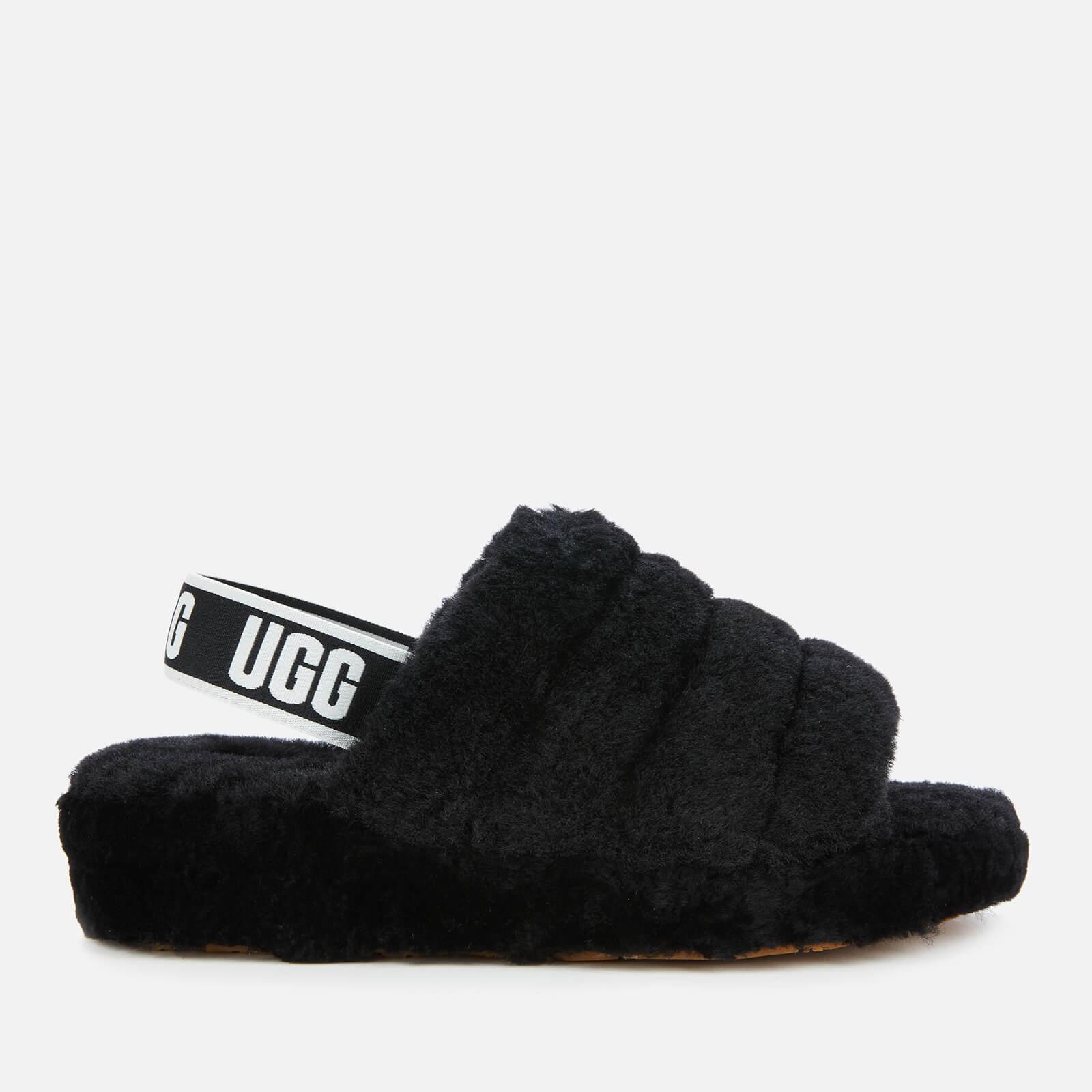 UGG Women's Fluff Yeah Slippers - Black