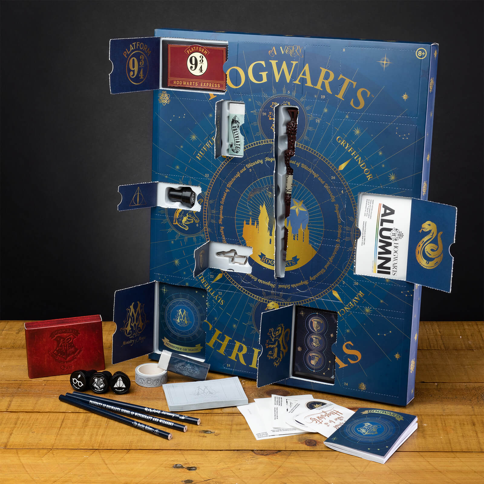 Harry Potter Hogwarts Schreibwaren Adventskalender 2020