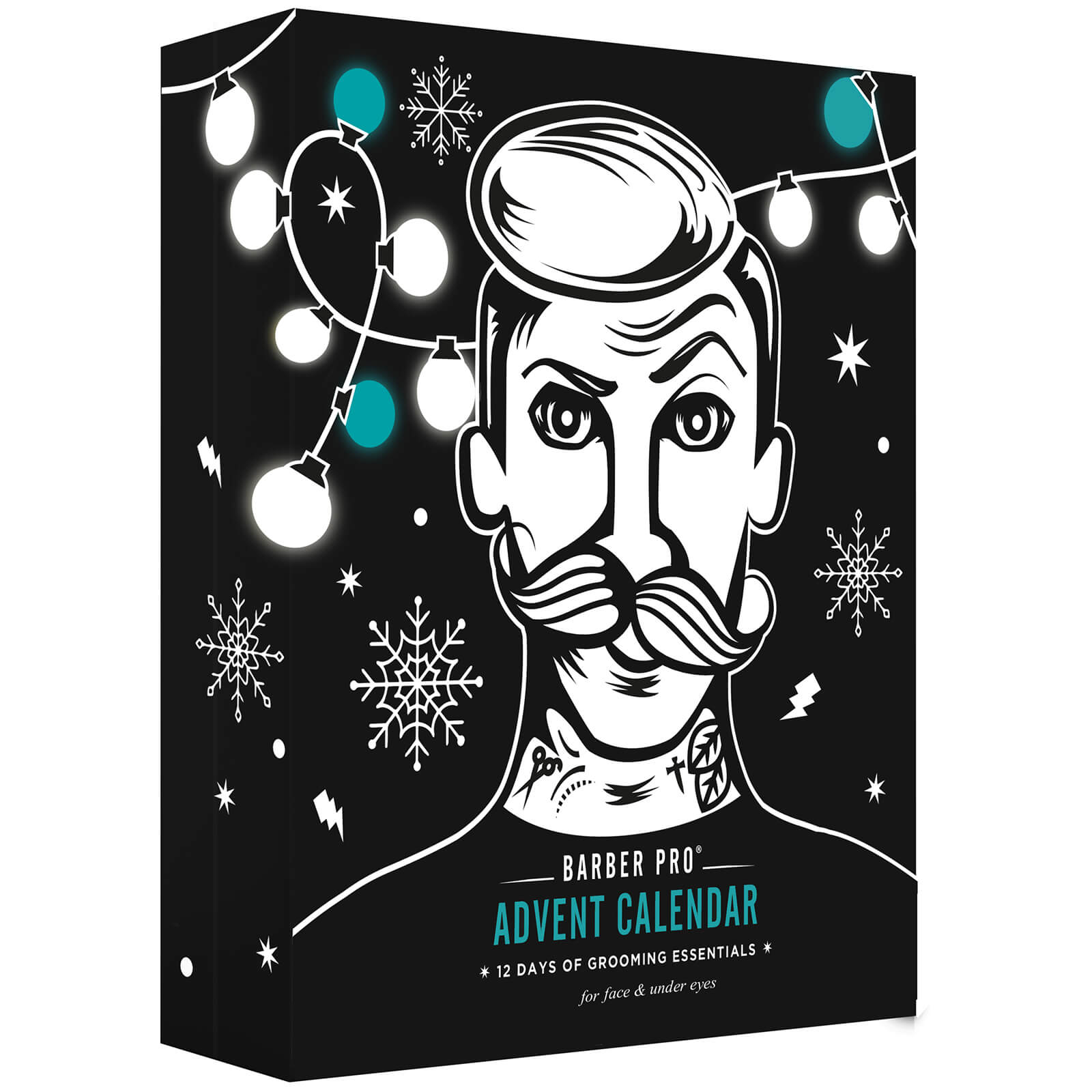 BARBER PRO 12 Days of Grooming Essentials Adventskalender 2020