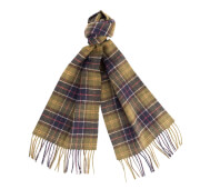 Barbour Men's Tartan Lambswool Scarf - Classic