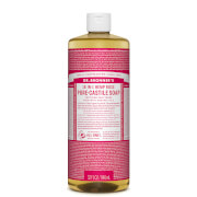 Dr Bronner's Pure Castile Liquid Soap Rose 946ml